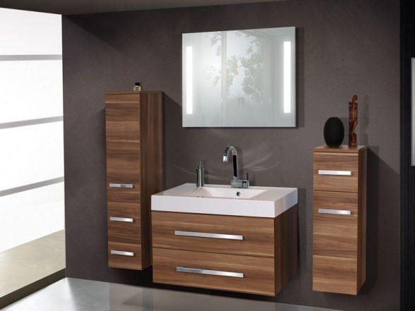 Design Badezimmermöbel - Set mit einem Highboard+Midischrank