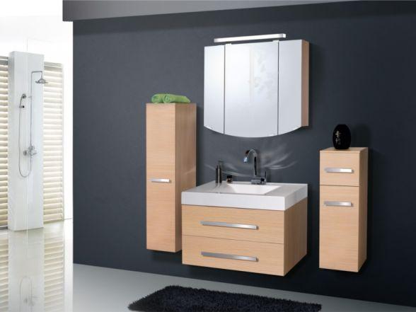Design Badezimmermöbel - Set mit einem Spiegelschrank