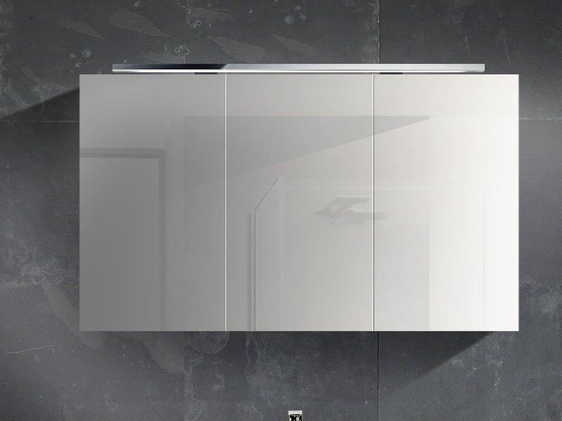 Design spiegelschrank  Design Badezimmermöbel - Set mit Mineralgusswaschtisch, Glas ...