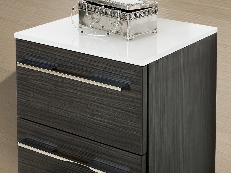 design badezimmerm bel set mit mineralgusswaschtisch und 2 highboards paul gottfried. Black Bedroom Furniture Sets. Home Design Ideas