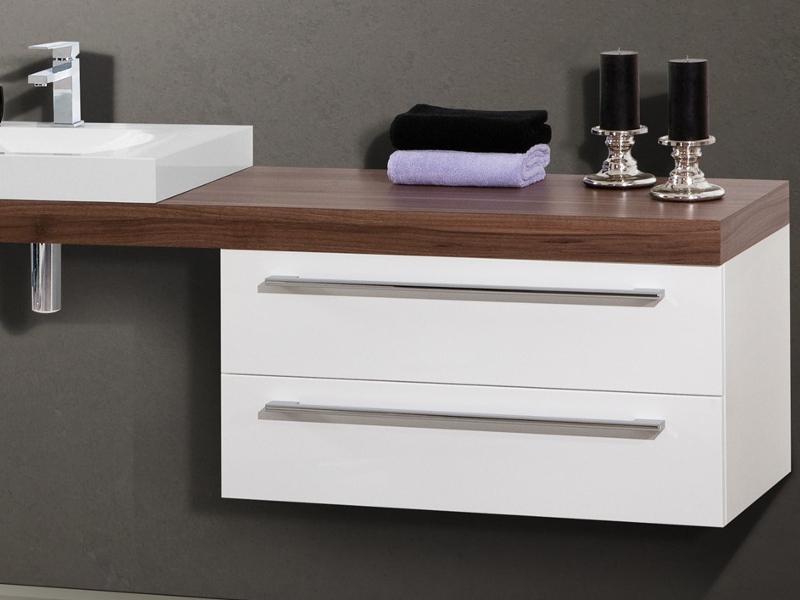 Waschtischplatte  Design Badezimmermöbel - Set mit Waschtischplatte und ...