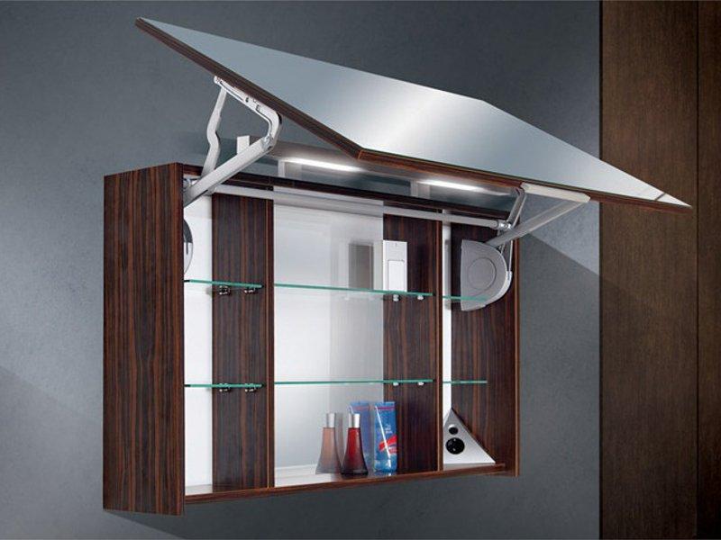 Design spiegelschrank  Design Badezimmermöbel - Set mit Waschtischplatte und ...