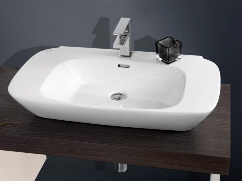 Design Waschplatz mit Waschtischplatte 180cm und Unterschrank ... | {Waschtischplatte mit unterschrank 34}