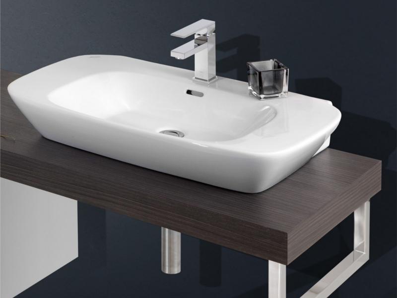 design waschplatz mit waschtischplatte 180cm und. Black Bedroom Furniture Sets. Home Design Ideas