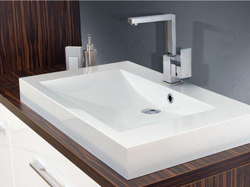 design waschplatz mit waschtischplatte und unterschr nken. Black Bedroom Furniture Sets. Home Design Ideas