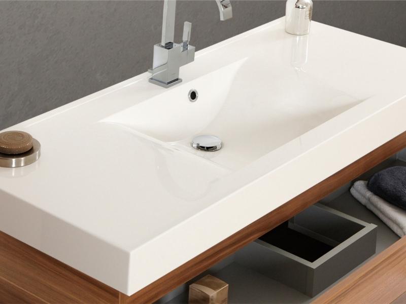 mineralgusswaschtisch einzel 120cm salerno paul gottfried. Black Bedroom Furniture Sets. Home Design Ideas