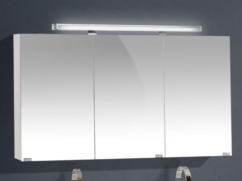 spiegelschrank 120cm breit 3-türig - paul gottfried - Spiegelschrank Badezimmer 120 Cm