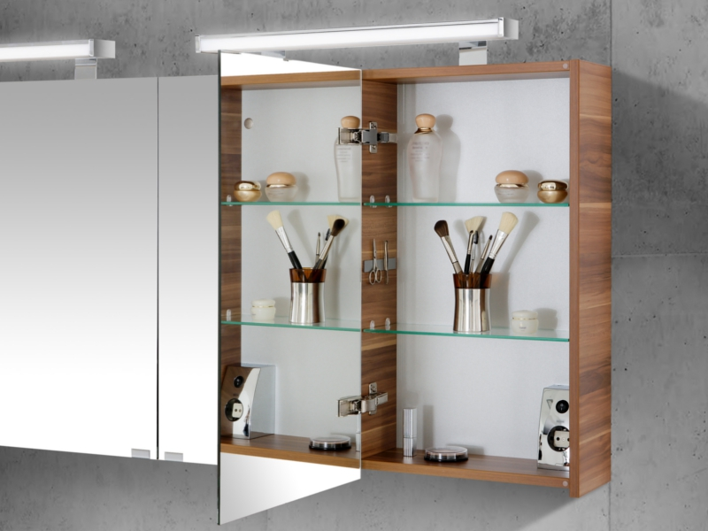 spiegelschrank 160cm breit 4 t rig 2x spigelschrank 80cm paul gottfried. Black Bedroom Furniture Sets. Home Design Ideas
