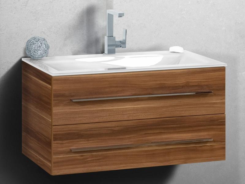 waschplatz salerno 90 cm mit glaswaschtisch paul gottfried. Black Bedroom Furniture Sets. Home Design Ideas