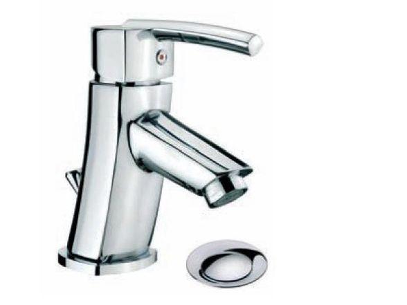 Cornat Metall Design Einhebel Waschtisch Armatur Chrom