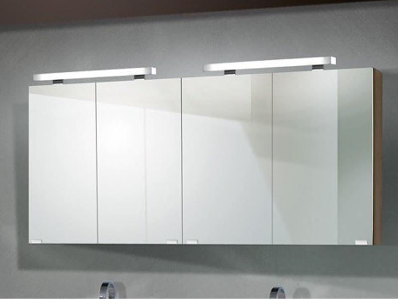 Design Badezimmermöbel - Set mit 2 Spiegelschränken und 160cm ...