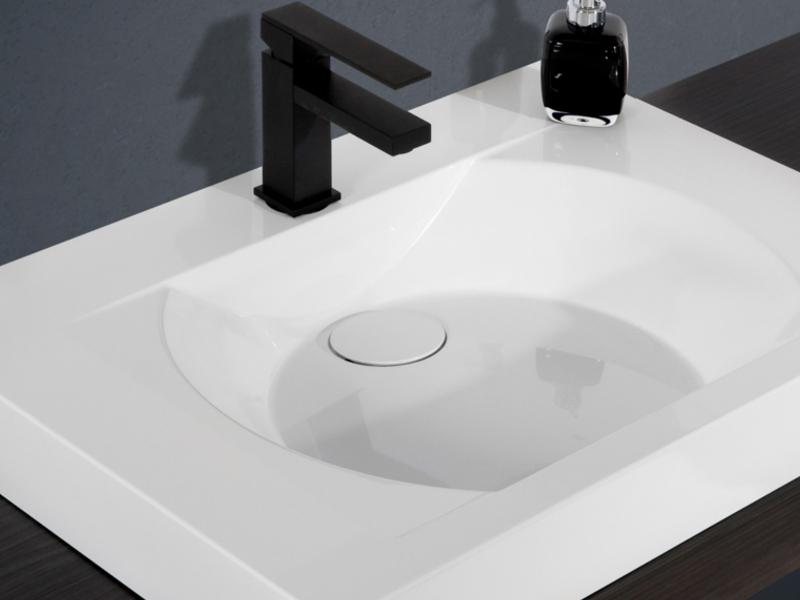 design badezimmerm bel set mit midischr nken und mineralgusswaschtisch paul gottfried. Black Bedroom Furniture Sets. Home Design Ideas