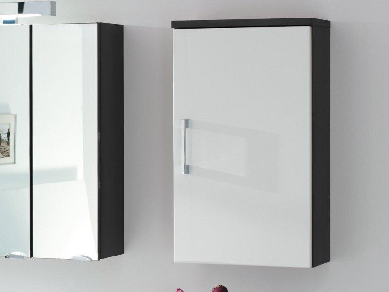 posseik h ngeschrank rima 40cm anthrazit wei hochglanz paul gottfried. Black Bedroom Furniture Sets. Home Design Ideas