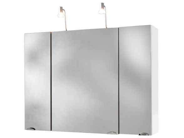 Posseik Spiegelschrank 3-türig 90 cm zerlegt