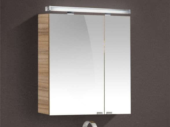 Spiegelschrank 60cm breit 2-türig