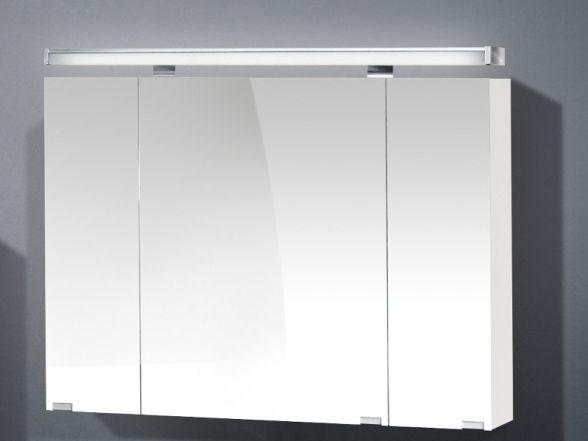 Spiegelschrank 90cm breit 3-türig