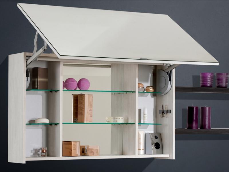 spiegelschrank mit liftt r 100 cm breit paul gottfried. Black Bedroom Furniture Sets. Home Design Ideas